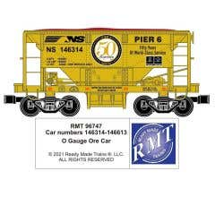 RMT #96747 O NS Ore Car