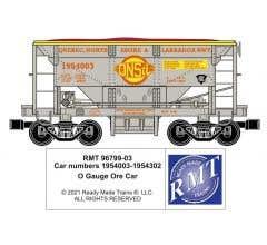 RMT #96799-03 O QNS&L Ore Car