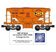 RMT #96799-06 O WLRS Ore Car