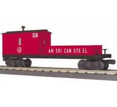 MTH 30-79525 American Steel Crane Tender Car