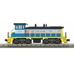 MTH #30-20835-1 SW1500 Diesel Switcher w/Proto-Sound 3.0 - Long Island (Gray/Blue/Yellow - Trainworld) # 103