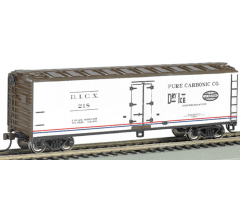 Bachmann #19805 40ft Wood Reefer - Pure Carbonic Co