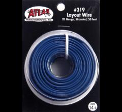 Atlas 319 Layout Wire-Blue 50'