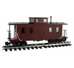 Bachmann #93804 Eight-Wheel Center Cupola Caboose - Unlettered