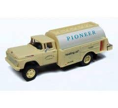 Classic Metal Works #30554 1960 Ford Tank Truck - Pioneer Heating Co.