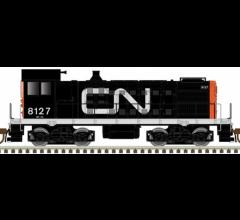 Atlas #10003395 S2 Locomotive w/DCC/Sound - Canadian National