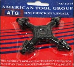 American Tool Group #11168 4 In 1 Chuck Key Small