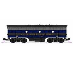 Kato #106-0428 N EMD F7A + F7B Baltimore & Ohio 2-Locomotive Set #4503A & #5493B