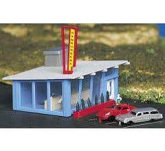 Bachmann #45709 Drive-In Burger Stand (Built Up)