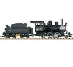LGB #20283 Durango & Silverton Syeam Locomotive Mogul