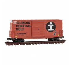 Micro Trains #10100150 40' Hy-Cube Box Car, Single Door - Illinois Central Gulf