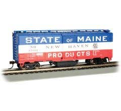 Bachmann #16320 Track Cleaning Box Car - NEW HAVEN - STATE OF MAINE #45062