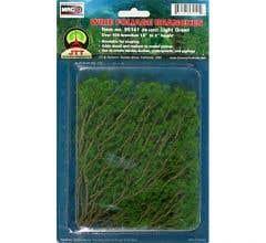 "JTT #95518 Wire Branches, Lt Green 1.5 - 3"" (60 pcs)"