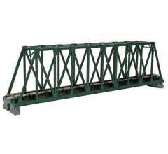 "Kato #20-431 248mm (9 3/4"") Single Track Truss Bridge, Green"