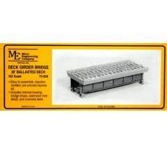 Micro Engineering HO #75-508 30' Deck Girder Bridge with Ballasted Deck Kit