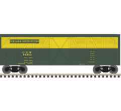 Atlas #50004147 40' Stock Car Chicago & North Western #14303