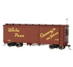 Bachmann #27001 White Pass & Yukon - Box Car