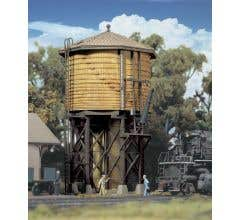 Walthers #933-2813 Wood Water Tank (Yellow Ochre) Built Up