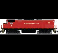 Atlas #10003295 C424 PH.2 w/DCC/Sound - Morristown & Erie #18
