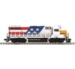 MTH #20-20904-1 GP38-2 Diesel w/Proto-Sound 3.0 - Illinois Central Gulf #1776