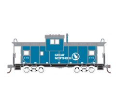 Athearn Roundhouse #1345 Wide Vision Caboose - Great Northern