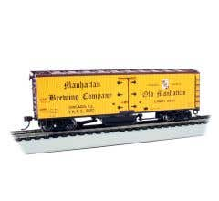 Bachmann #16334 Track Cleaning Woodside Reefer - Manhattan Brewing Co