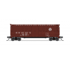 Broadway Limited #6593 PRR Stock Car No Sound 2-pack