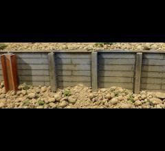 Chooch #8612 Large Timber Retaining Wall Flexible