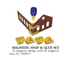 Bachmann #39009 Magnetic Snap & Glue Set
