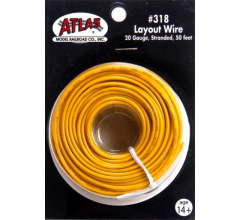 Atlas 318 Layout Wire-Yellow 50'