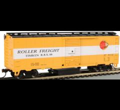 Bachmann #16319 Track Cleaning Box Car - Timken
