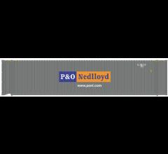 Atlas #50004981 45' Container - P&O Nedlloyd Set #1