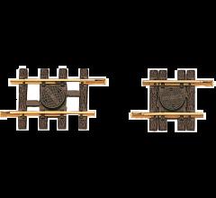 """LGB #10090 Adjustable Track, 88-120 mm 3 1/2 - 4 1/4"""""""