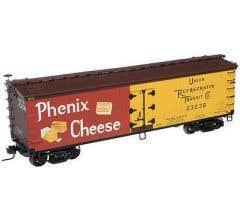 Atlas #50001268 40' WOOD REEFER PHENIX CHEESE (URTX) 23237