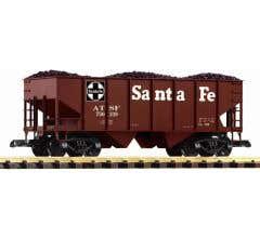PIKO #38918 SF Rib Sided Hopper w/ Coal Load