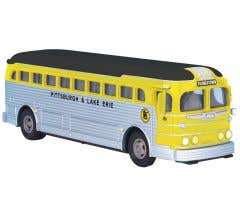 MTH #30-50106 Pittsburgh & Lake Erie - Diecast Bus