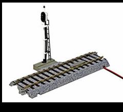 "Kato #2-601 123mm (4 7/8"") Automatic Three-Color Signal Track"
