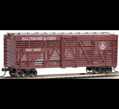 Bachmann #18504 Baltimore & Ohio - 40' Stock Car
