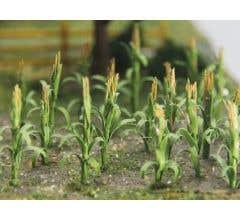 """JTT #32501 Corn Stalks - 1"""" Tall (30 pcs)"""