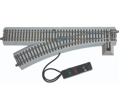American Flyer #49885 FasTrack R27 Command / Remote Control Switch (Left Hand)