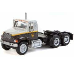 Walthers #949-11186 International 4900 Dual-Axle Semi Tractor Only - UPS