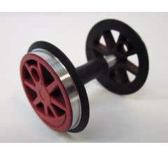 PIKO 36077 Center Wheelset, BR80, Red