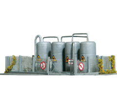 PIKO #60012 Warwick Oil tanks - Kit