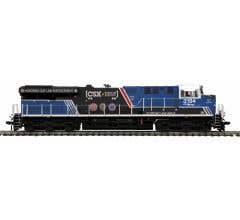 MTH #80-2402-1 ES44AC Diesel Engine w/Proto-Sound 3.0 - CSX (Spirit of Law Enforcement)