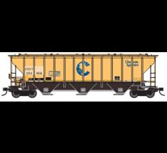 Trainworx #24424-03 PS4427 Covered Hopper - CSXT #253858