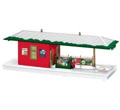Lionel #2029180 Christmas Operating Freight Station