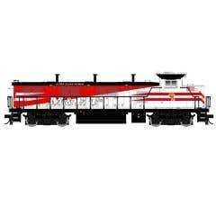 Atlas #10002684 HO NRE Genset II Locomotive with ESU Sound-Modesto & Empire Traction (Red/White/Black) #2002