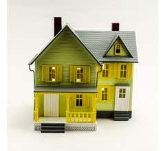 MODEL POWER #6373 Dr Andrew's House-Built Up