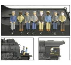 Broadway Limited #1005 2-Pack B (ch) HO Figures