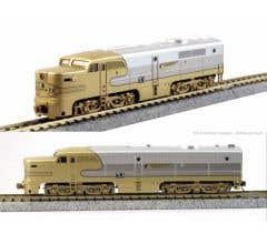 Kato #176-053L ALCO PA-1 Santa Fe Goldbonnet #53L